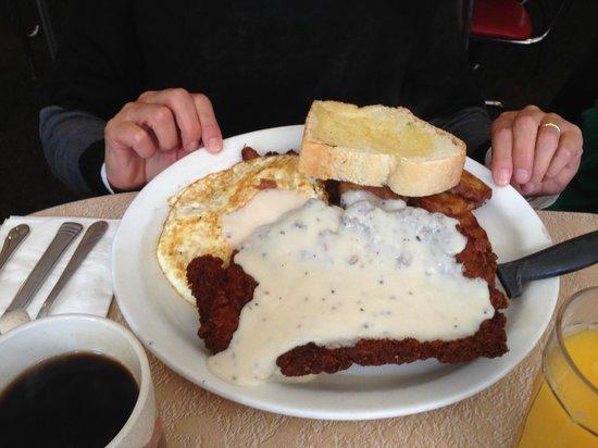 Wild Wood Cafe: Chicken Fried Steak