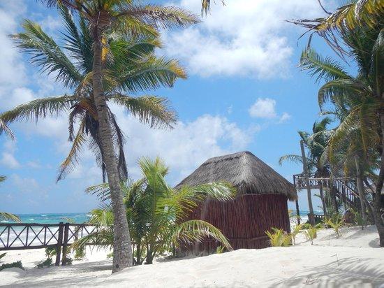 Cabanas Los Arrecifes: Vista de la cabaña