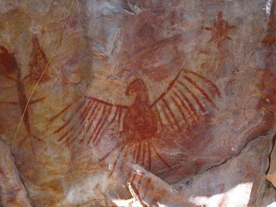 Serranópolis, GO: Pintura rupestre