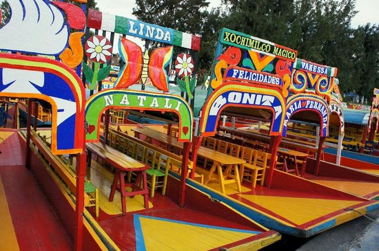 Floating Gardens of Xochimilco: Chocomilk