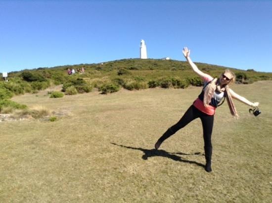 Bruny Island Safaris: caela at bruny lighthouse