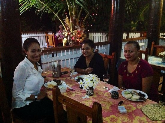 Port Wine Guest House : Dining at Portwine Guesthouse, Vava'u, Tonga