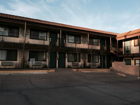 Casa Ojai Inn: outside of our room, #114