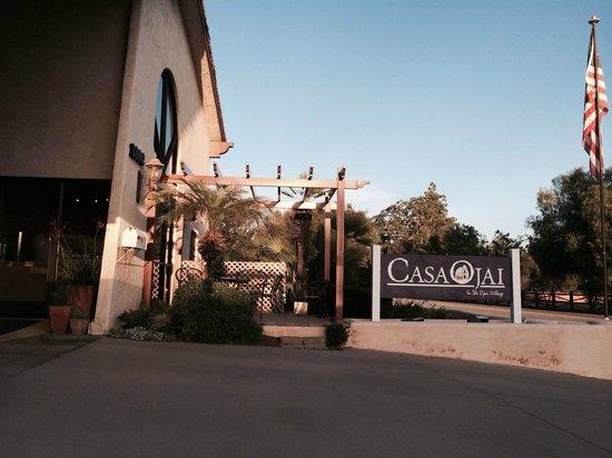 Casa Ojai Inn : front of hotel