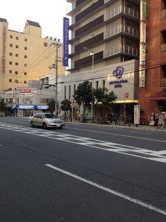 Daiwa Roynet Hotel Osaka Uehonmachi: ホテル外観