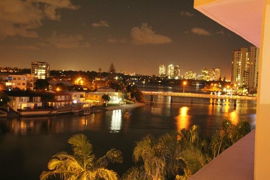Moorings on Cavill Avenue: View from Room 528 - balcony