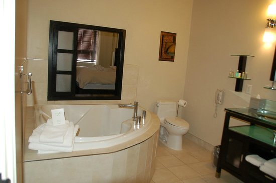 Sterling Inn & Spa: View from bathroom to bedroom
