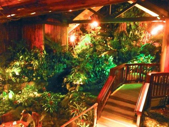 Kaua'i Marriott Resort: Duke's indoor werfall