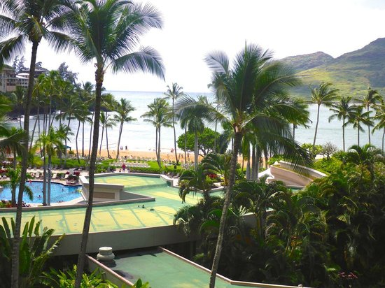 Kaua'i Marriott Resort: View from 677 in Kahail Tower