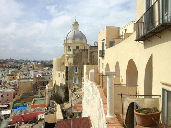 Hotel La Casa sul Mare: view from room