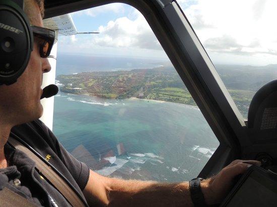Wings Over Kauai Air Tour: As seen out Josh's window