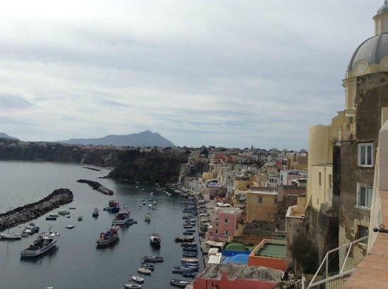 Hotel La Casa sul Mare: view from the room