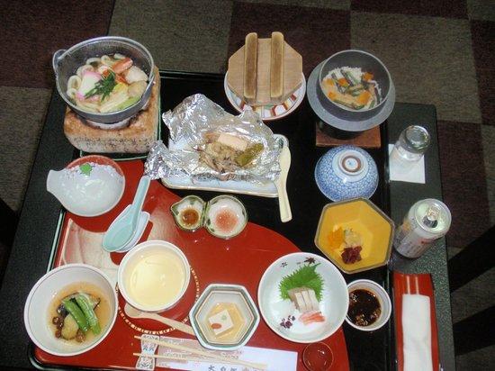 Tsuetate Onsen Hizenya: Dinner