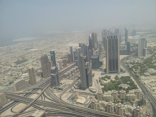 Burj Khalifa: Like a view of another planet..