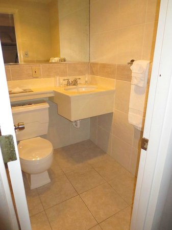 Hyannis Travel Inn: Bathroom