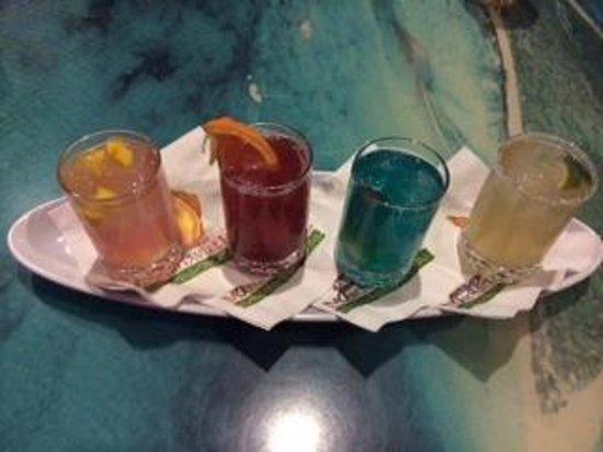 Margaritaville Las Vegas : Margarita flight