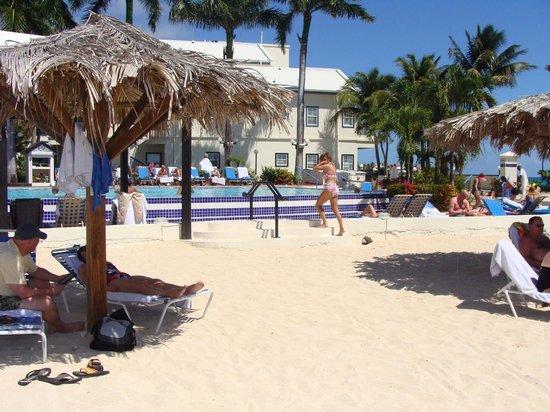 Flamingo Beach Resort: pool/beach