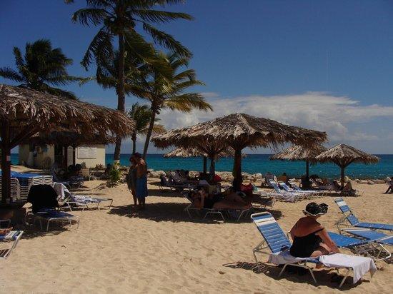 Flamingo Beach Resort: beach