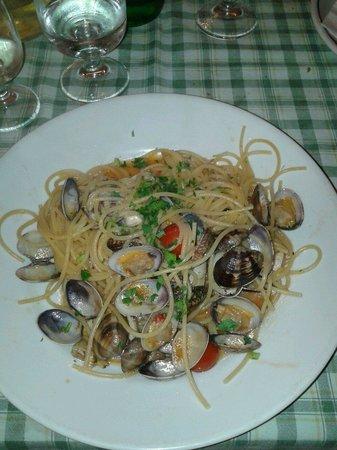 Zelluso: Spaghetti alle vongole