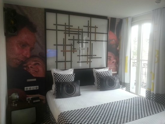 Le 123 Sebastopol - Astotel: Nice room with good views.
