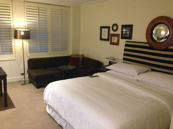Sheraton on the Park, Sydney: Very comfortable room