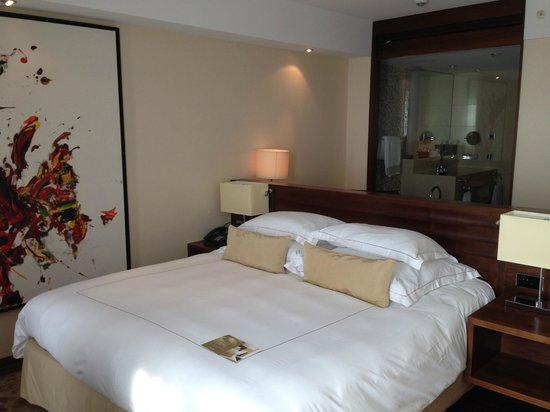 Jumeirah Frankfurt: comfortable room