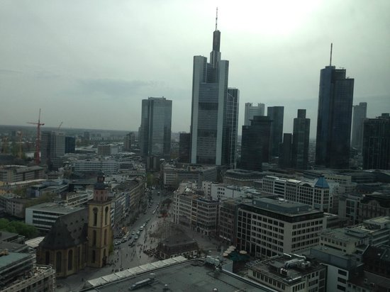 Jumeirah Frankfurt: skyline view
