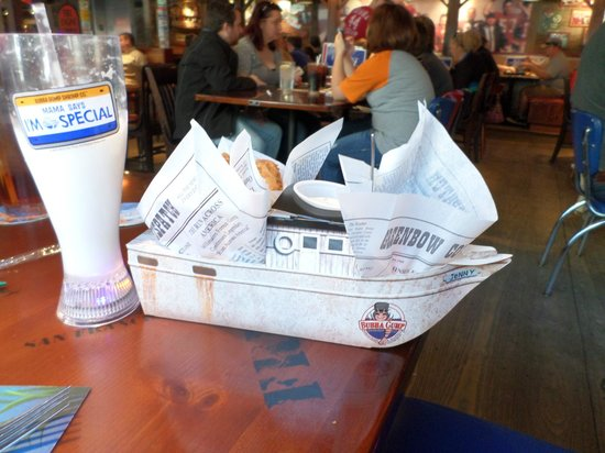 Bubba Gump Shrimp Co. Restaurant and Market: Kids Fish and Chips