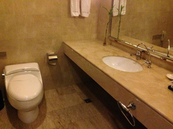 Dacheng Shanshui International Hotel: Clean bathroom