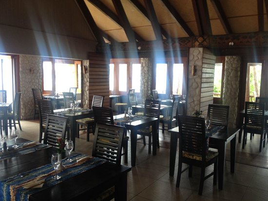 Matamanoa Island Resort : Dining area - Breakfast, Lunch and Dinner