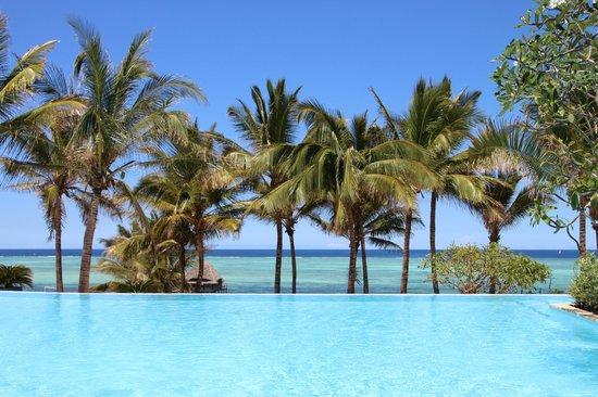 Melia Zanzibar: ocean view from the pool