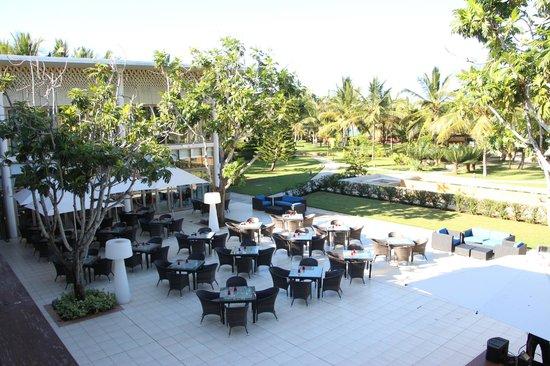 Melia Zanzibar: Main building, restaurant