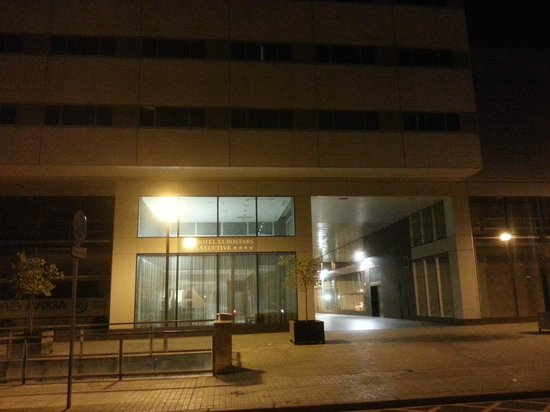 Eurostars Executive: Hotel entrance