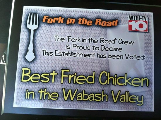 West Union, IL : Fork in the Road Best Fried Chicken