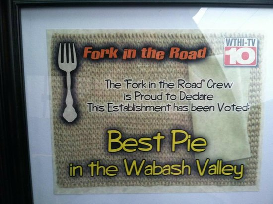 West Union, IL : Fork in the Road Best Pie