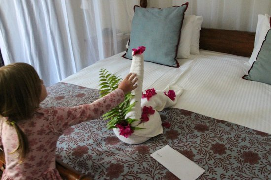 Melia Zanzibar: decorations after cleaning :)
