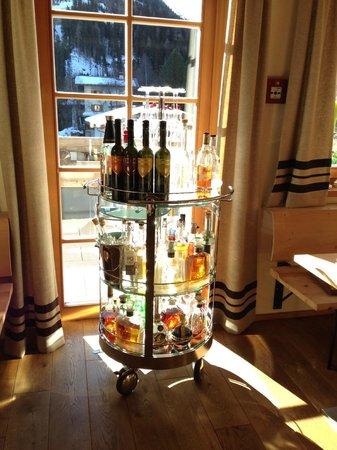 Der Waldhof: after dinner drink selection