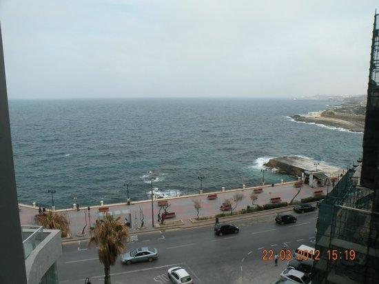Preluna Hotel & Spa : view from balcony
