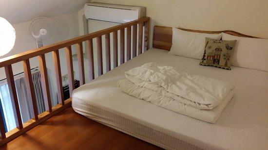 "Village Villa B&B: 香林薇拉二館""波西瓦舍""的小北歐,是間閣樓式的房型,很新穎很舒適"