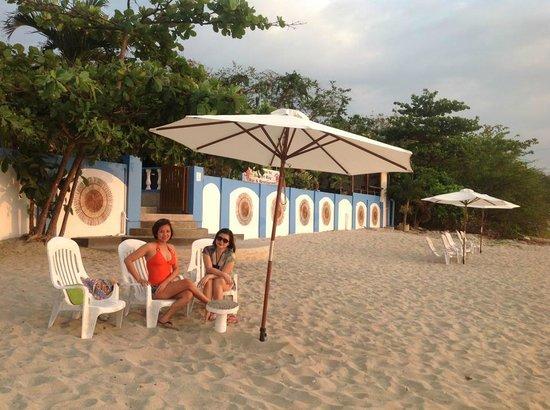 Sunset Bay Beach Resort: View from the Beach