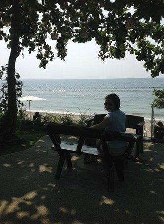 Sunset Bay Beach Resort: sitting area