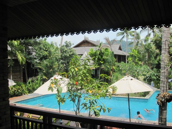 Ao Nang Phu Pi Maan Resort & Spa: View from V05 balcony area