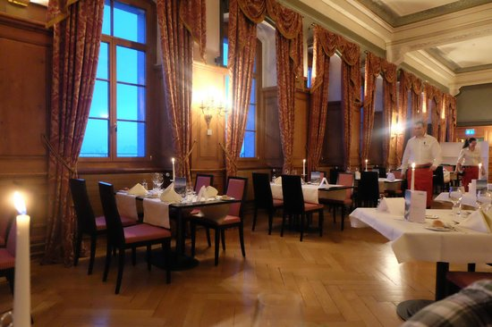 Hotel Pilatus-Kulm : The restaurant