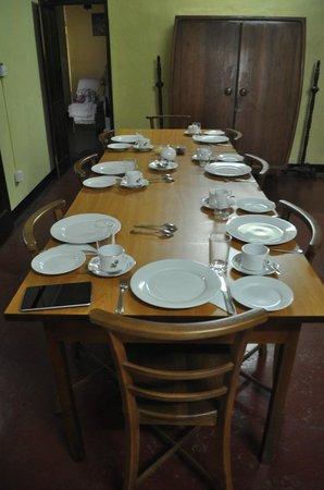 Sriya Paya Villa: Dining hall