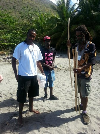 Solomon Water Taxi & Tours: Solomon and our tour guides
