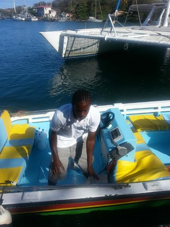 Solomon Water Taxi & Tours: Solomon's brother