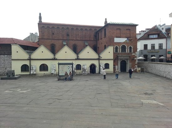Jewish District (Kazimierz): The old synagogue in Krakow