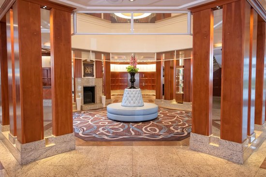 Grand Harbour Hotel: Hotel Reception