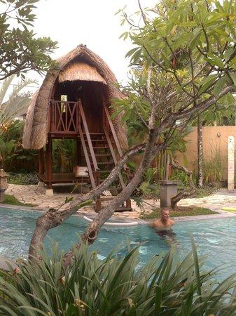 Mutiara Bali Boutique Resort & Villas : pool area