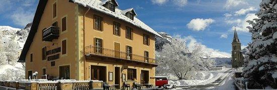 Hotel d'Izoard : Hôtel en hiver